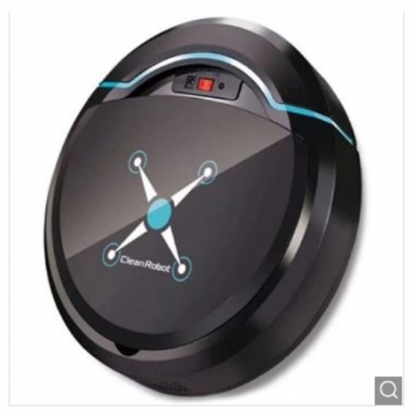 Home Smart Ultra-thin Small Charging Sweeping Robot - Black