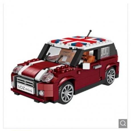 LOZ 1:24 Car Model Building Block Toy - Multi-A