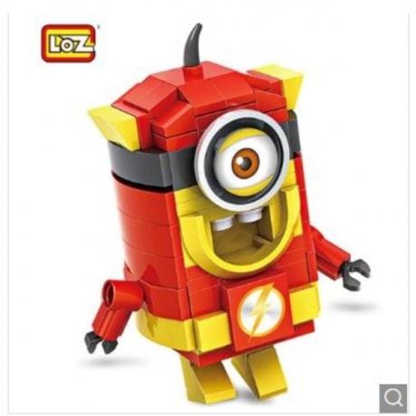 LOZ Cartoon Figure Style ABS Building Block - Colormix