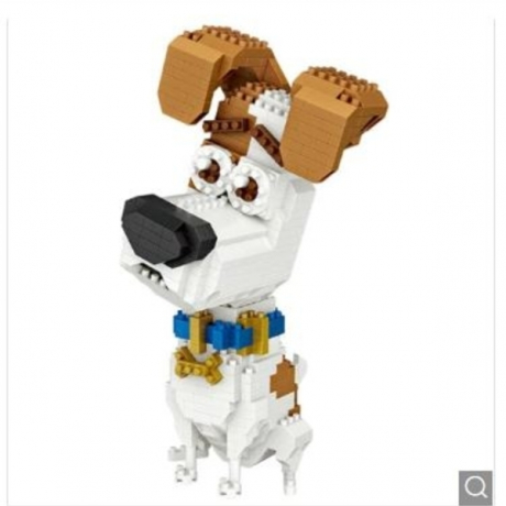 LOZ Jack Russell Terrier Style Mini Building Block Toys - Multi-A