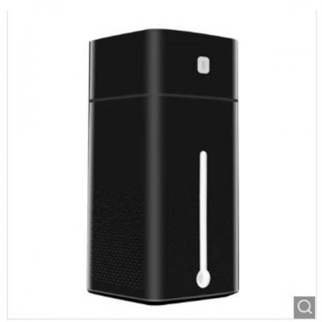 1000ML Ultrasonic Air Humidifier USB 7 Color LED Night Light Nano - Black China