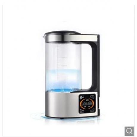 2L Rich Hydrogen Water Bottle Alkaline Water Ionizer Machine Water filter - White EU 220V China