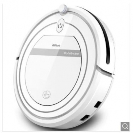 AIIBOT Robot Vacuum Cleaner with 3-Stage Cleaning System_ Intelligent Fall Arrest Sensor - White EU