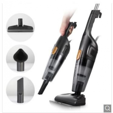 Deerma Household Small Silent Vacuum Cleaner - Black Chinese Plug (2-pin)