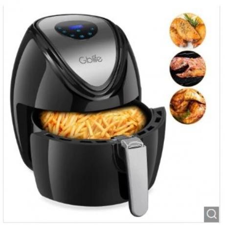 GBlife KAF1500P - D2 Electric Digital Air Fryer for Frying Grilling Roasting Send from CZ - Black EU