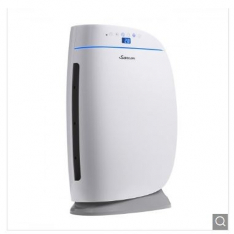 True HEPA Air purifier Indoor Cleaner with 2 Stage Filtration System for Home Office - White