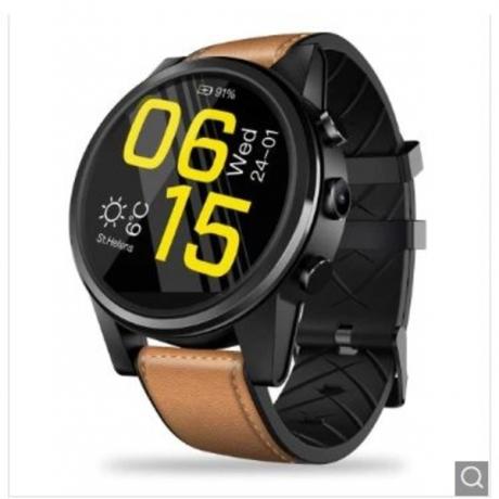 Zeblaze THOR 4 PRO 4G SmartWatch 1.6inch Display 16GB 600mAh Leather Straps - Multi-A