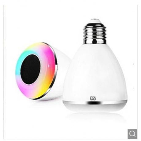 YWXLight E27 6W Mobile Phone Bluetooth Smart LED Light Bulb - Multi-A