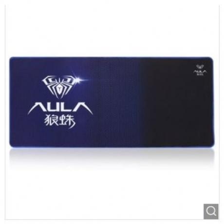 AULA Long Rectangle Mouse Pad PC Mat Computer Supply - Blue