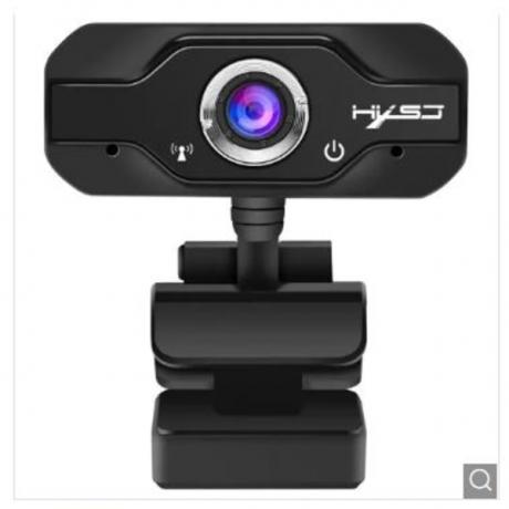 HXSJ S60 1080P Manual Focusing Webcam - Black