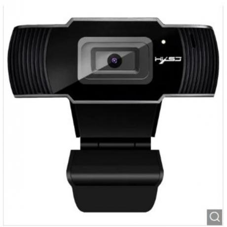 HXSJ S70 500 Million Pixel Auto Focusing Webcam Web Camera - Black