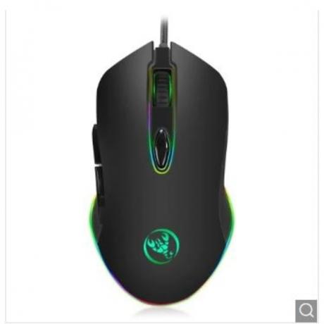 MOYUKAXIE S500 RGB Backlight Gaming Mouse - Black