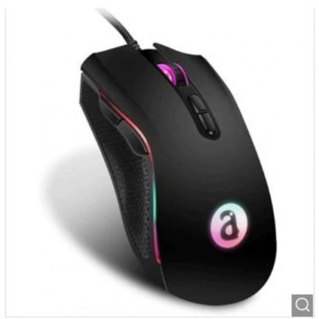 Alfawise WM05 RGB Ergonomic Gaming Mouse - Black