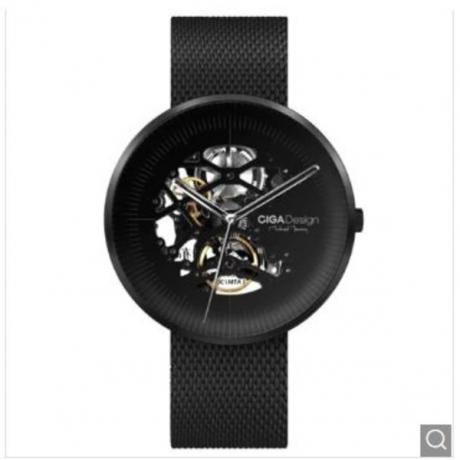 Xiaomi Youpin CIGA Hollowed-out Mechanical Automatic Watch - Black