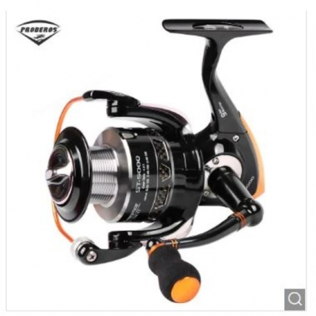 PRO BEROS 5.5:1 All-metal 9 Ball Bearing Spinning Fishing Reel - Black ST5000