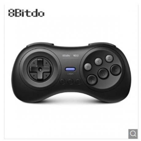 8Bitdo M30 Bluetooth Controller for Switch PC MAC Steam - Black