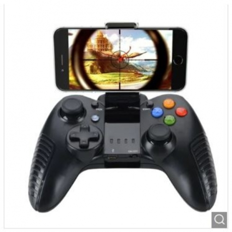 Bluetooth Gamepad Wireless Joystick Receiver for Samsung Apple PC V3 Game Touch - Black