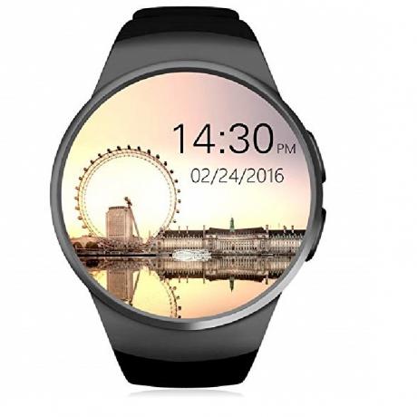 Smart Watch Supports SIM TF Sard Heart Rate Monitor - Black