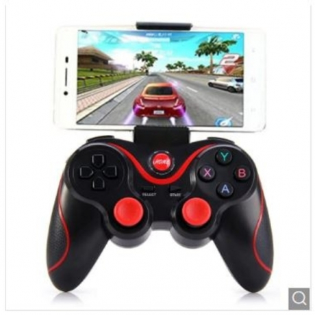 T3 joystick Bluetooth wireless S600 STB S3VR joystick for Android IOS mobile PC game controller - BLACK