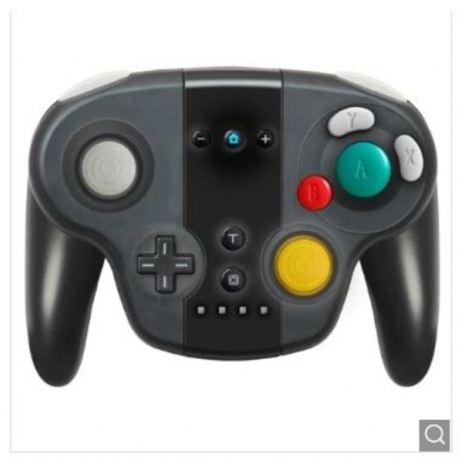 With FNC Function Wireless Pro Gamepad for Switch NS Controller Gamepad Joystick Console Joypad - Black