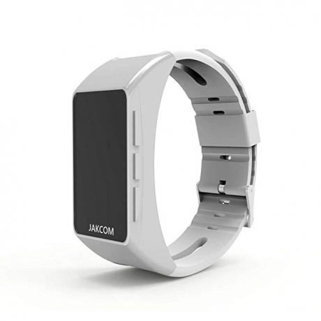 JAKCOM B3 OLED Bluetooth Smart Bracelet with Headset - White