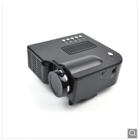 Projector Household Mini Portable High Definition LED Projector - Black