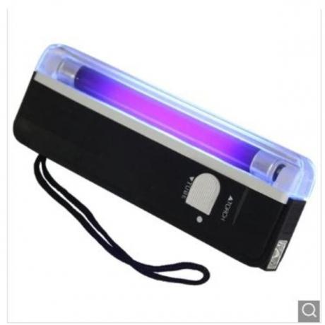 DL - 01 Portable Violet Light Money Detector Pen - Black