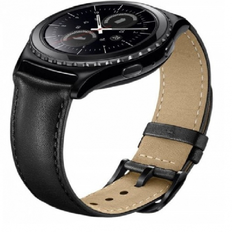 20MM Genuine Leather Watch Band Strap for AMAZFIT Bip Youth - Black