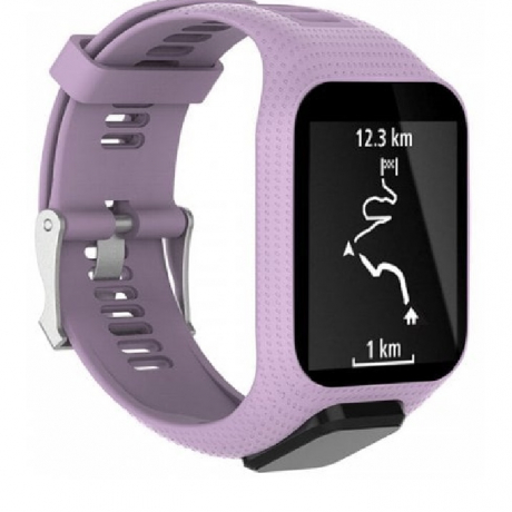 Generation Universal Replacement Strap for TomTom Smart Watch Spark Series / Runner 2 / 3 - Mauve