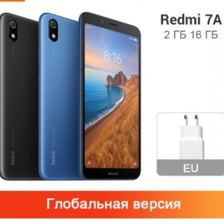 Original Global Version Xiaomi Redmi 7A 2GB RAM 16GB ROM Smartphone 4000mAh Snapdargon 439 Octa core 13MP 5.49