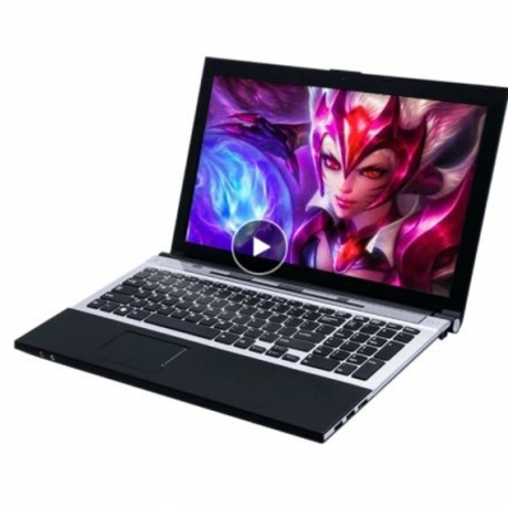 15.6 Core I7 gaming laptop computers 8GB RAM 120GB SSD + 500GB 15.6inch 1920*1080 HD Windows 7 Russian Free shipping notebook