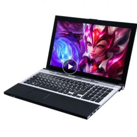 15.6 Core I7 gaming laptop computers 8GB RAM 120GB SSD + 500GB 15.6inch 1920*1080 HD Windows 7 Russian Free shipping notebook