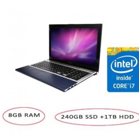15.6inch I7 gaming laptop 8GB optional 240GB SSD optional 1TB HDD 1920*1080 HD DVD ROM/RW camera Windows 10 notebook computer