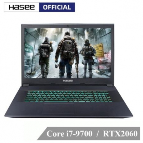 Hasee GX8-CT7DK Laptop for Gaming (Intel Core I7-9700+RTX 2060/16GB RAM/256G SSD+1T HDD/17.3'' 120Hz 94%NTSC)GOD OF WAR
