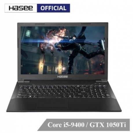 Hasee ZX6-CT5A2 Laptop for Gaming(Intel Core I5-9400+GTX 1050Ti/8GB RAM/512G SSD/15.6''IPS 45%NTSC)Hasee Desktop-grade Notebook