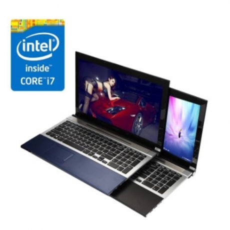 Intel Core I7 laptop computer 8GB+ optional 240GB SSD + optional 1TB HDD 1920*1080 HD screen WIFI Windows 10 gaming notebook