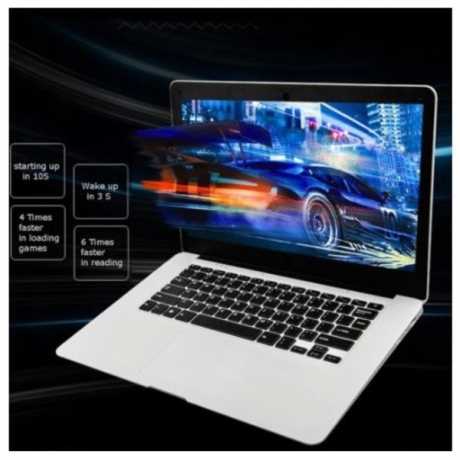 Ultra-thin Laptop PC 14.1-inch Netbook 1366*768P Display pixel 4GB+64GB for Windows10