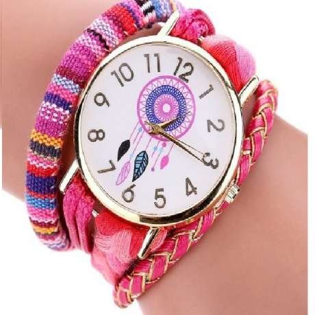 DUOYA Women Casual Quartz Watch Fashion Stainless Steel Bracelet Wristwatch - Multi-A