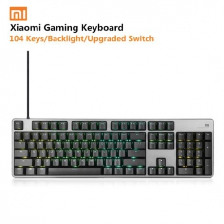 Original Xiaomi Mi Mechanical Gaming Keyboard 104 Keys LED Backlit Backlight USB Wired Aluminum alloy For Overwatch Dota2