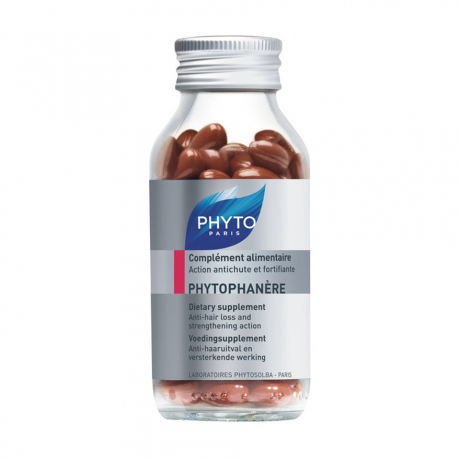 Phyto Phytophanere Dietary Supplement for Hair Nails and Skin 120 Caplets