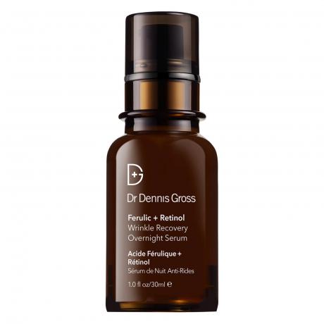 Dr Dennis Gross Skincare Ferulic and Retinol Wrinkle Recovery Overnight Serum 30ml