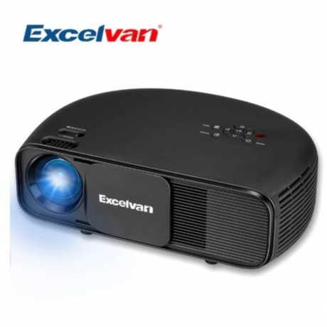 Excelvan CL760 HD LCD LED Projector 3200 Lumen 1080P Video Games TV Home Theater Projecyor Movie Beamer PK CL720 Projetor
