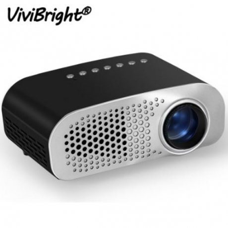Portable Mini Projector LED Full HD 1080P Video Beamer 480*320 Home Theater Cinema LCD TV Smart 3D Movie Projector EU/US Plug