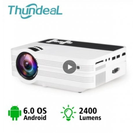 ThundeaL Mini Projector UB10 Android WiFi 3D LED Projector 2000Lumens TV Home Theater LCD Video USB VGA Support 1080P HD Beamer