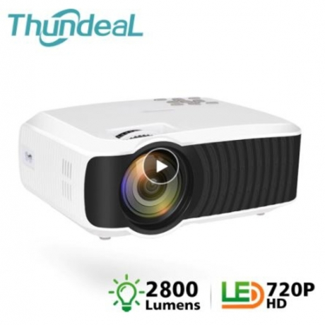 ThundeaL T4 Mini Projector 2800 Lumens Native 1280*720 Portable Video HD T23K Mini Beamer HDMI VGA Home Theater T23 Projector