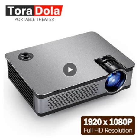 TORA DOLA Full HD LED Projector. 1920*1080P, 3,800 Lumens, AKEY5 UP, Android Projector, WIFI, Bluetooth. Optional AKEY5 Basic