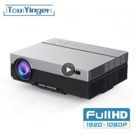 Touyinger T26K LED Native 1080p Projector full HD beamer Video 5500 Lumen T26L Home cinema HDMI ( Android 8.1 wifi AC3 optional)