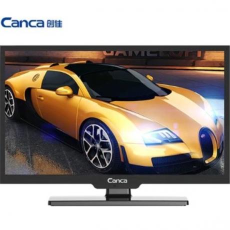 Canca 22inches TV Full HD HDMI/USB/AV/RF/VGA Multi-Interface Monitor Eyecare Elegant Narrow Support TV Box