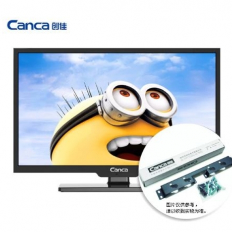 Canca DTMB CMMB DVB-T TV 24inches TV Full HD HDMI/USB/AV/RF/VGA Multi-Interface Monitor Eyecare Elegant Narrow