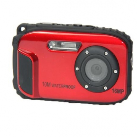 16MP Waterproof Camera 10M 8X Zoom Underwater Shockproof Digital Camera 2.7inch LCD Cameras